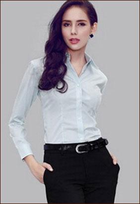 职业装衬衫款式
